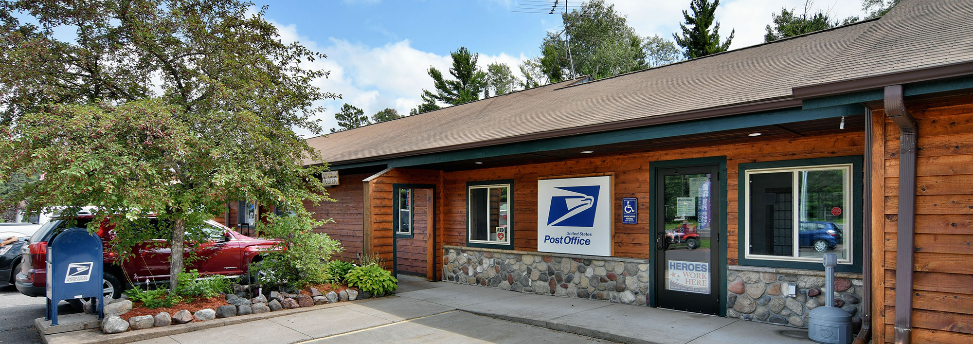 Clam Lake Wisconsin Post Office