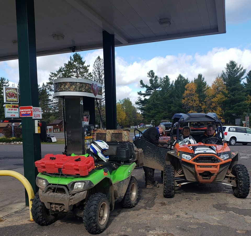 gas on northern wisconsin ATV trails