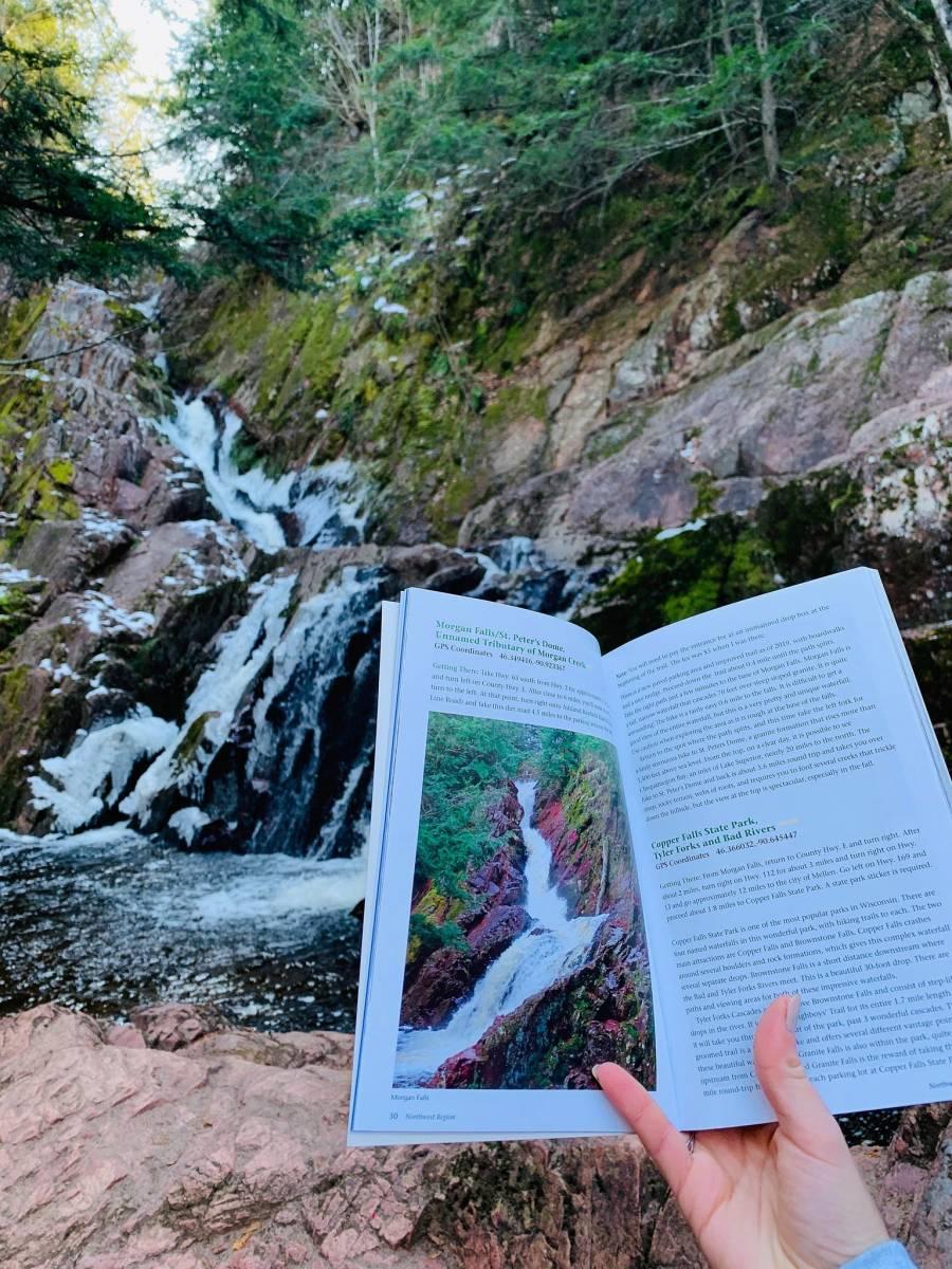 clam lake wi waterfall hikes
