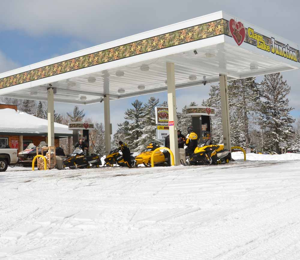Premium Snowmobile Gas