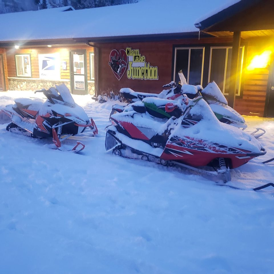 lodging clam lake wi snowmobiling