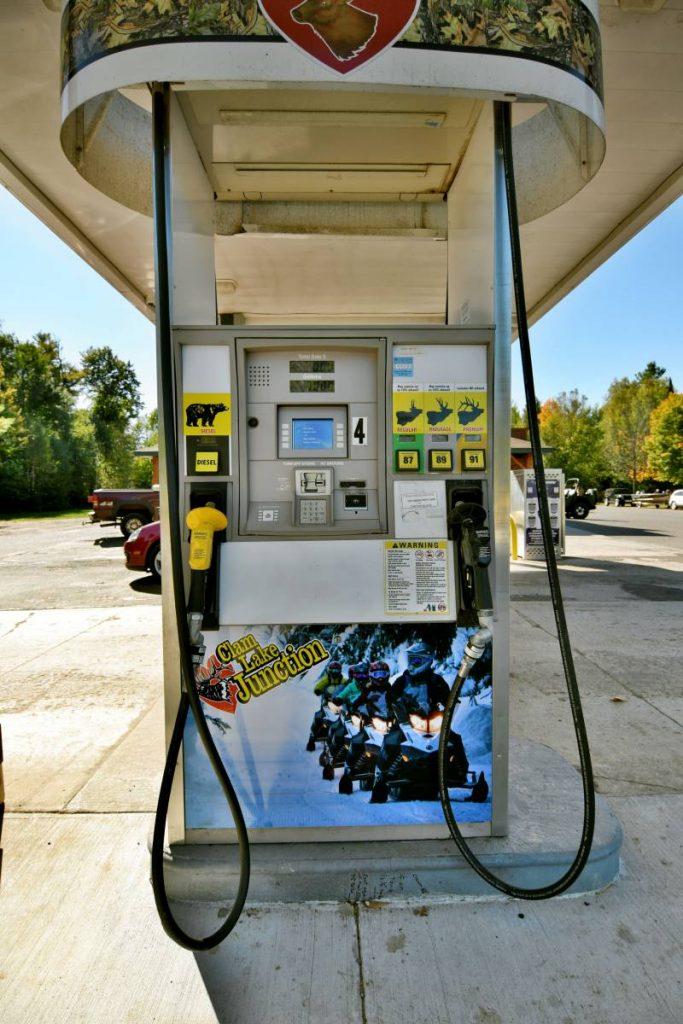 Premium Snowmobile Gas