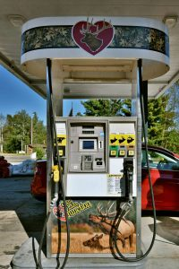 Clam Lake, WI Gas Station
